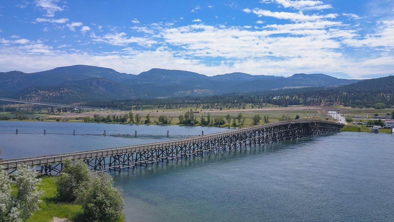 Pritchard trestle bridge BC